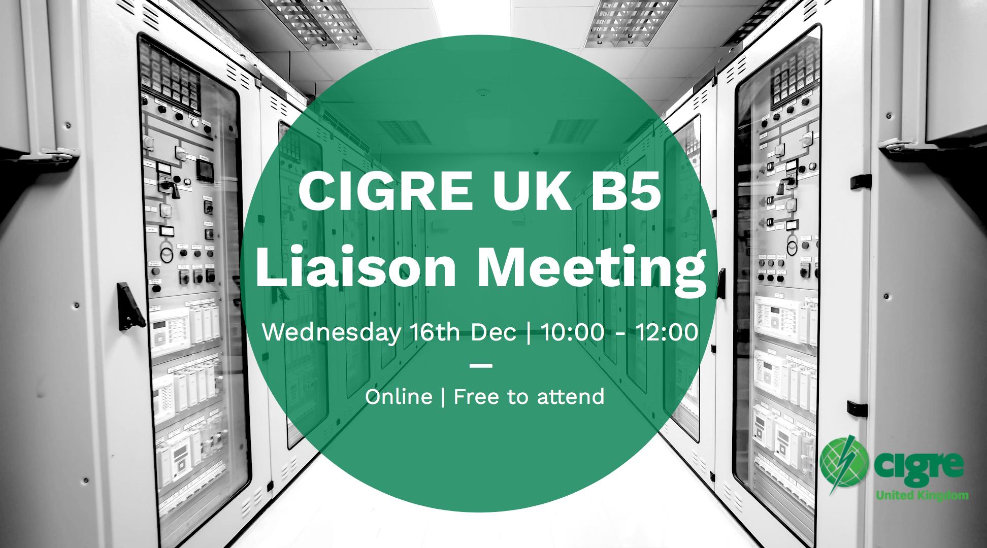 B5 Liaison Meeting eventbrite image