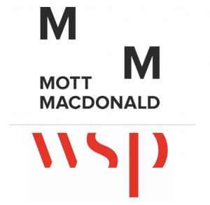 sponsors logos Mott Macdonald & WSP